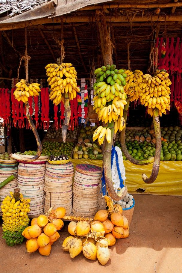 Fruits shop around a road in Sri Lanka.  Traveler Photo Contest 2012 - National Geographic