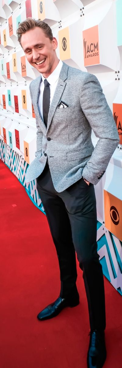 Tom Hiddleston attends the 51st Academy of Country Music Awards at MGM Grand Garden Arena on April 3, 2016 in Las Vegas, Nevada. Full size image: http://www.tomhiddleston.us/gallery/albums/2016/events/030416ACMArrivals/074.jpg Source: Tom Hiddleston US http://www.tomhiddleston.us/gallery/thumbnails.php?album=690&page=1