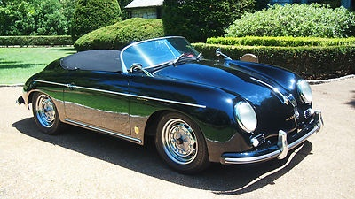 1959 Porsche 356 Speedster Carrera Replica Jps Built