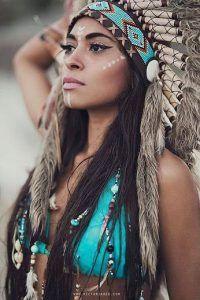 Indianerin Kostüm selber machen |Kostüm-Idee zu Karneval, Halloween & Fasching