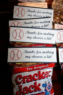 cute idea for baseball birthday party