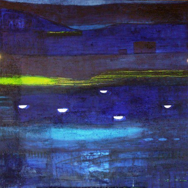 Kveld/ Evening 100x100 (sold)