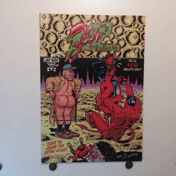 ZAP Comics, Issue 11, 1985, Last Gasp , R Crumb, Robert Crumb, Underground Comics, Adult