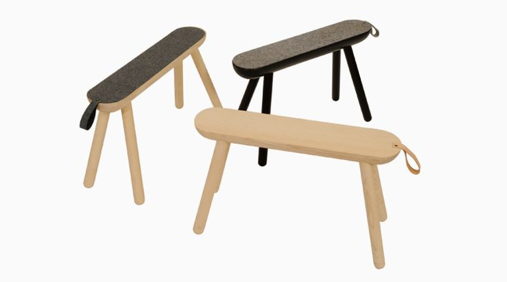 'sheep' bench - norrmade furniture collection at maison et objet 2014