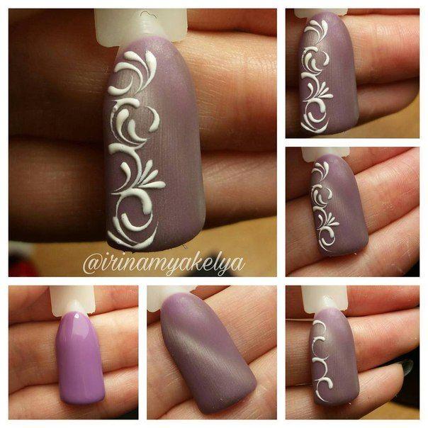 Nails University. Ногти и Маникюр пошагово. winter nails - http://amzn.to/2iZnRSz