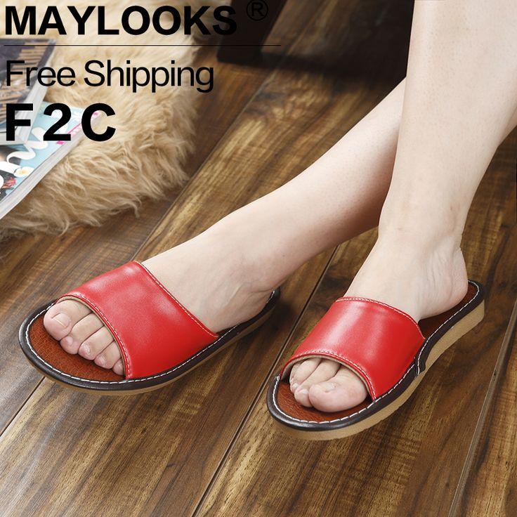 $9.52 (Buy here: https://alitems.com/g/1e8d114494ebda23ff8b16525dc3e8/?i=5&ulp=https%3A%2F%2Fwww.aliexpress.com%2Fitem%2F2017-Summer-Women-s-Slippers-Casual-Slides-PU-Leather-Sandals-Flat-Sandals-Flip-Flops-Open-Toe%2F32795403109.html ) 2017 Summer Women's Slippers Casual Slides PU Leather Sandals Flat Sandals Flip Flops Open Toe Ladies Beach Shoes for Girls for just $9.52