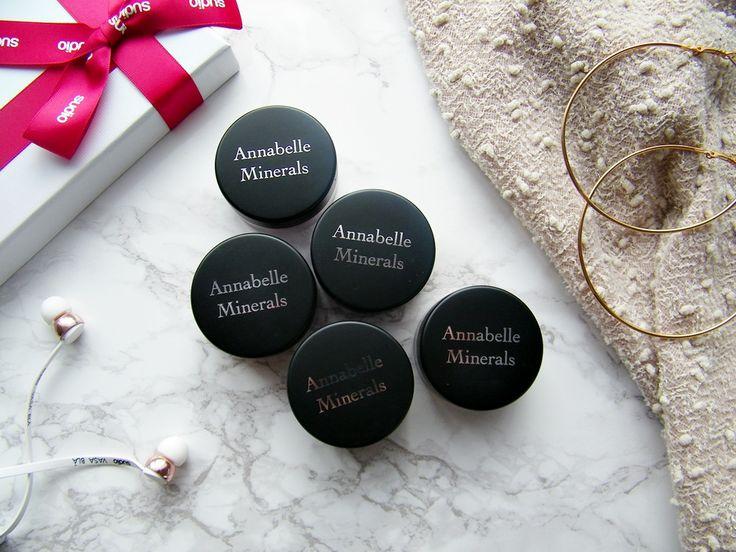 annabelle minerals cienie do powiek mineralne