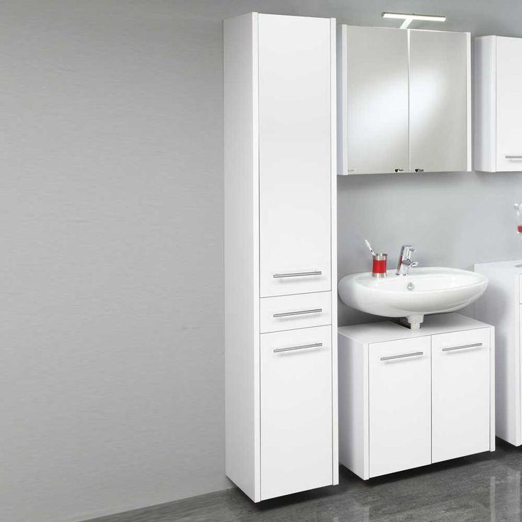 die besten 25 badezimmerschrank wei ideen auf pinterest bauernhaus pendelleuchte gardinen. Black Bedroom Furniture Sets. Home Design Ideas