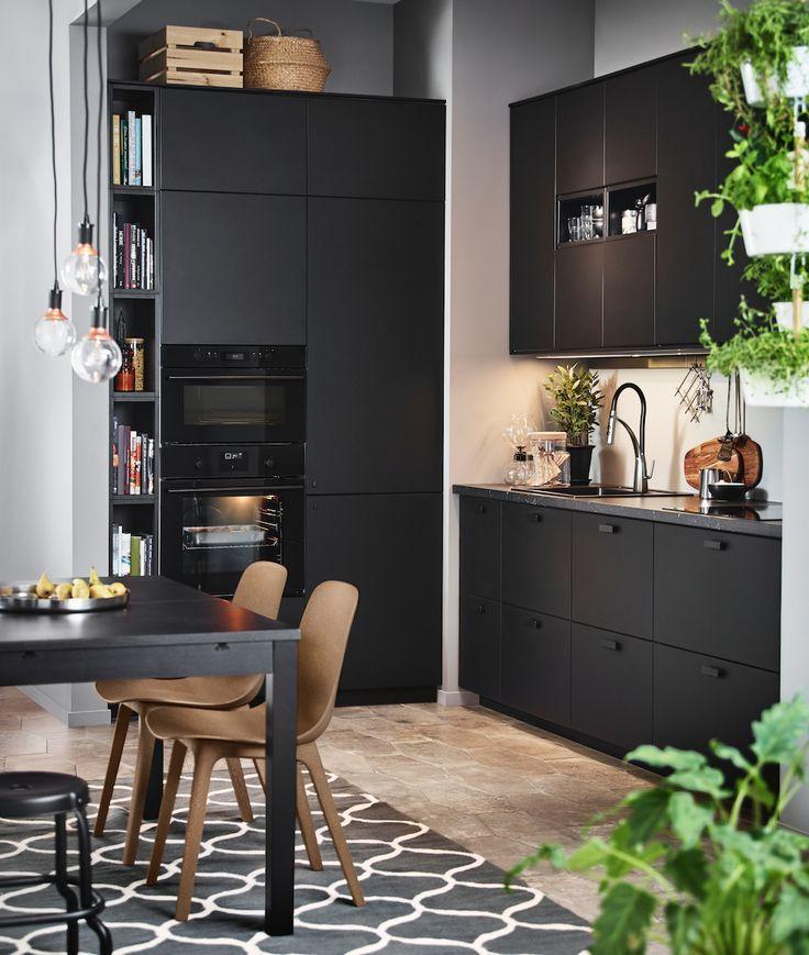 19++ Meuble cuisine noir ikea ideas
