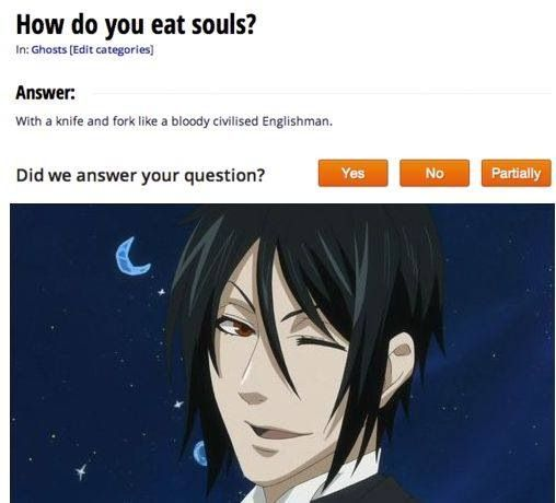 Sebastian from Black Butler # funny