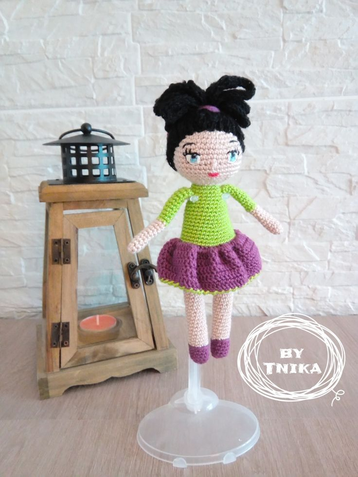 Crochet doll JESSICA, doll by Tnika