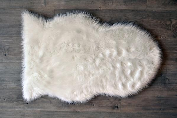 Faux Sheepskin Rug – DLK | Design Life Kids