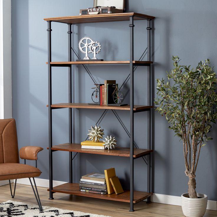 """Mercury Row® Zona 72"""" Etagere Bookcase"""