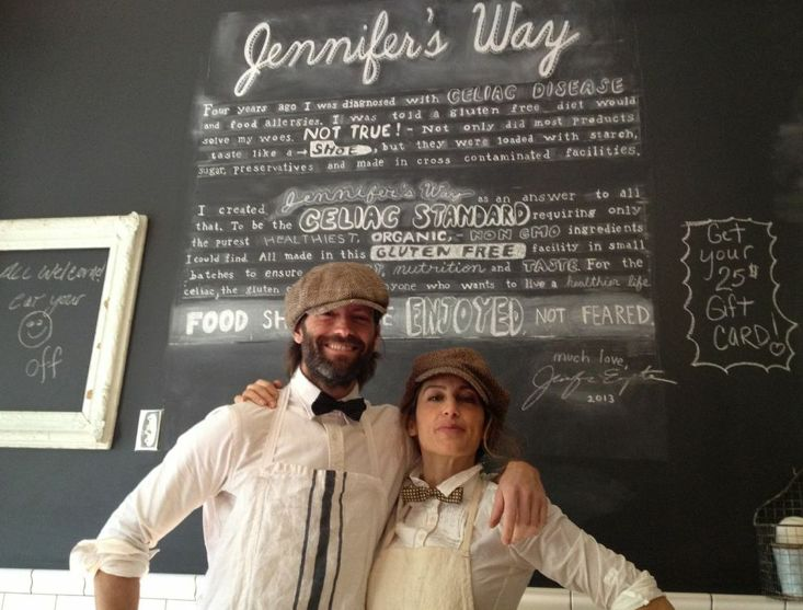 The actor-owner of Jennifer's Way bakery is on a mission to help Celiac sufferers find wholesome foods they can eat. And she says it's not getting any easier.