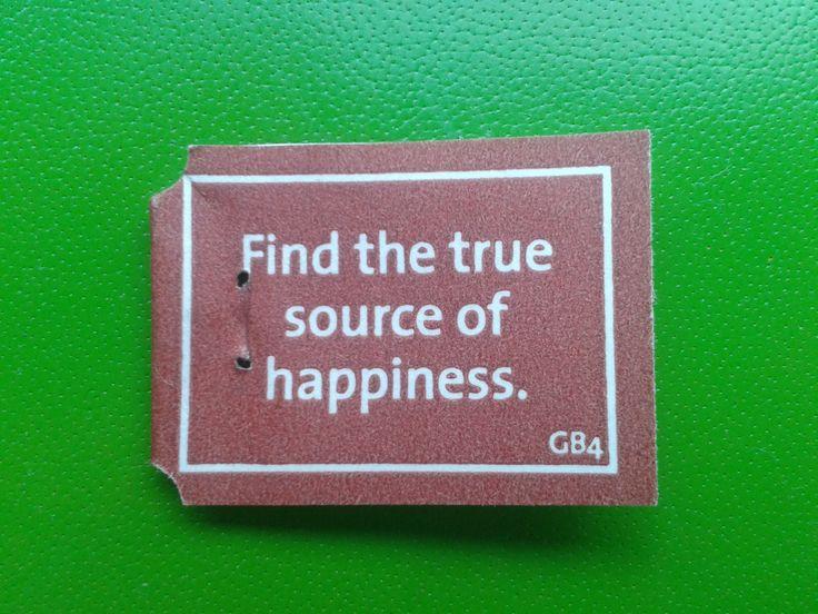 Find the true source of happiness. #yogitea | Yogi Tea Quotes ...