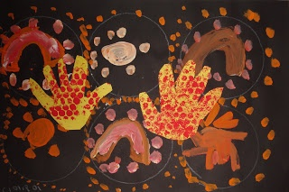 ArtMuse67: Kindergarten Aboriginal Dot Paintings