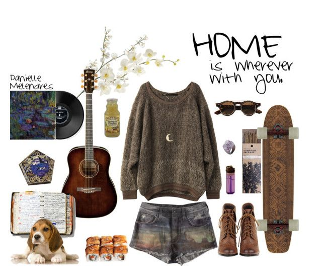 HOME by mermaidanielle on Polyvore featuring arte, indie, hippie and Bohemian