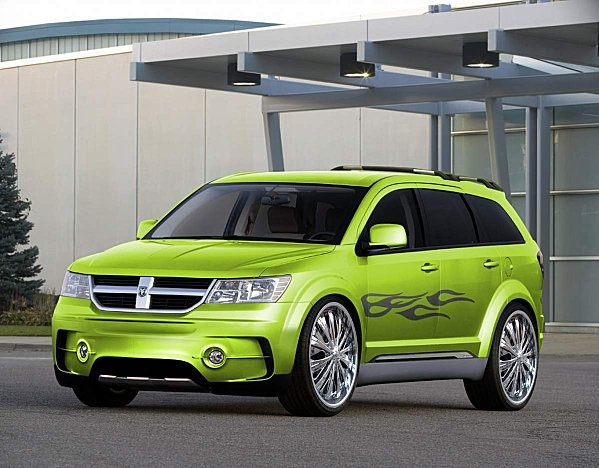 Dodge Journey...Levi can we paint it this color? Minus decals?