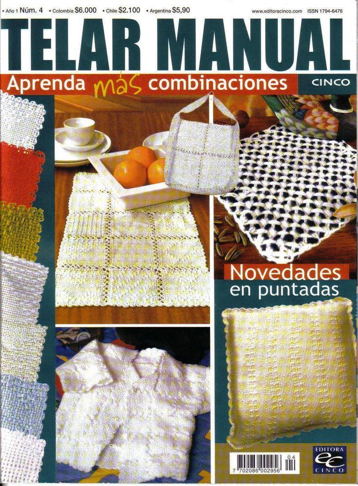Revistas de Manualidades Para Descargar: Telar Manual Nº4