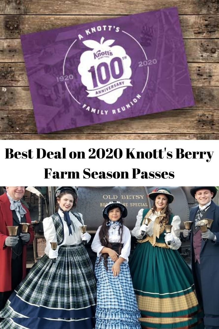 Knotts Berry Farm Christmas 2020 Dates Knott's Berry Farm Season Passes | Farm seasons, Knotts berry farm