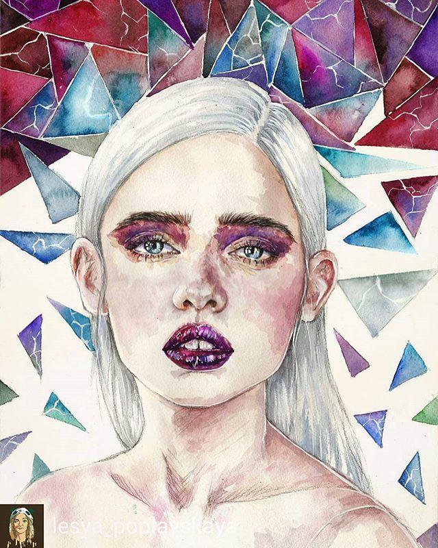 Best 25+ Watercolor Eyes Ideas On Pinterest