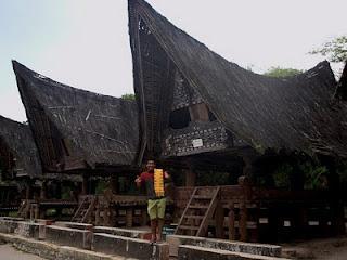 Samosir Island on Lake Toba, North Sumatera