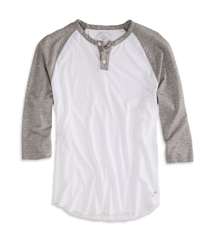Love a good baseball shirt! Available @American Eagle Outfitters