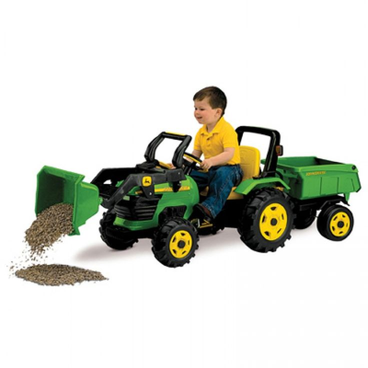 Lil Rider Tractor : Best images about john deere riding toys on pinterest
