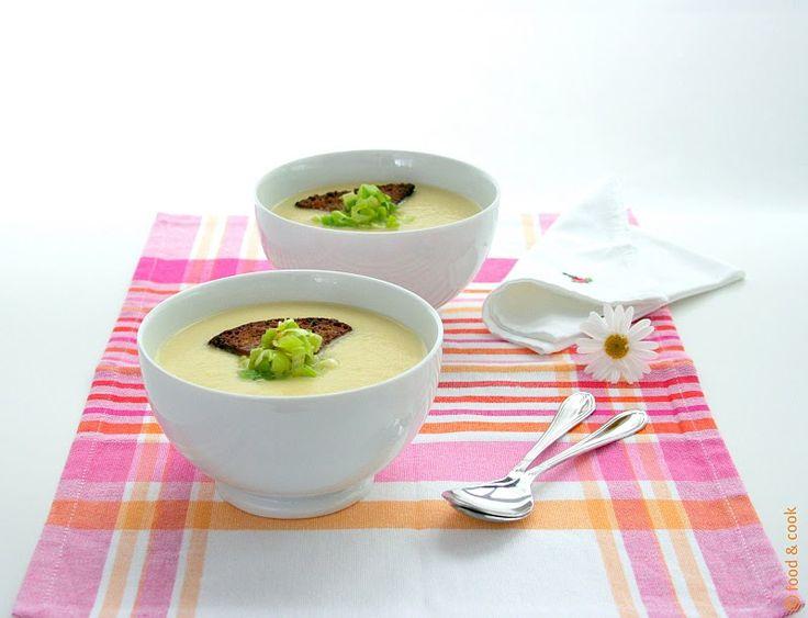 Food and Cook by trotamundos » SOPA CREMOSA DE CHIRIVIA (Creamy Parsnip Soup)