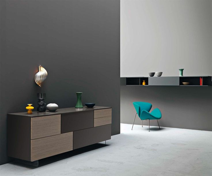 Incontro Sideboard II By Sangiacomo, Italy. Fronts Th 30/20 Incontro In Ash