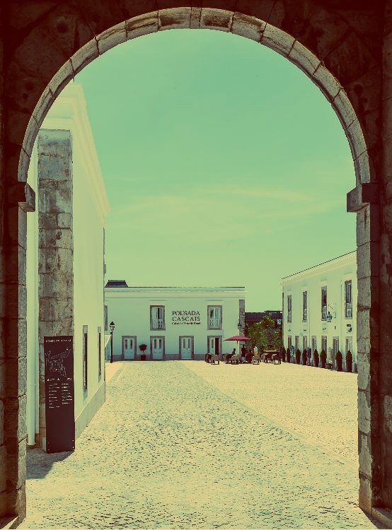 The entrance to a world of history, luxury and rest! Pousada de Cascais     #portugal #best #hotels #pousada
