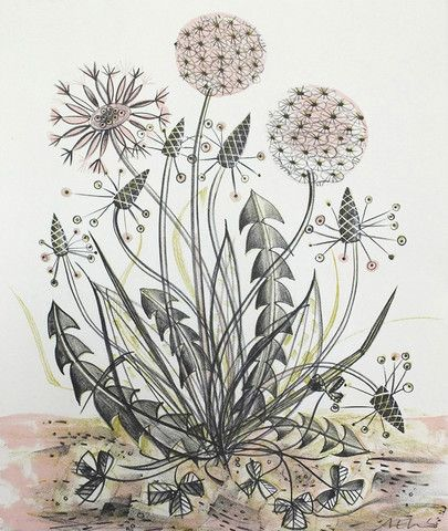 Angie Lewin's prints are gorgeous!