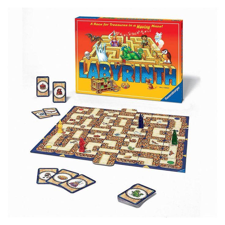Ravensburger Labyrinth Game, Multicolor