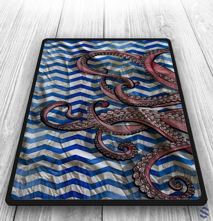 "NEW CHEAP Octopus Blue And White Chevron Custom Blanket 58"" x 80"" Inch #Unbranded #Top #Trend #Limited #Edition #Famous #Cheap #New #Best #Seller #Design #Custom #Gift #Birthday #Anniversary #Friend #Graduation #Family #Hot #Limited #Elegant #Luxury #Sport #Special #Hot #Rare #Cool #Cover #Print #On #Valentine #Surprise"