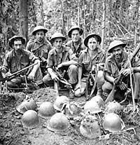 Australian soldiers - Kokoda Trail
