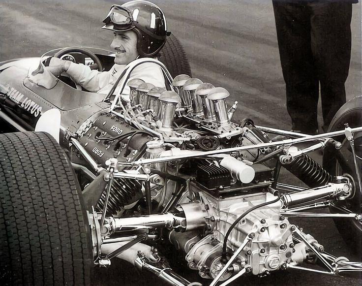 Graham Hill 1967 Lotus 49 Formule 1, Lotus f1, Voiture