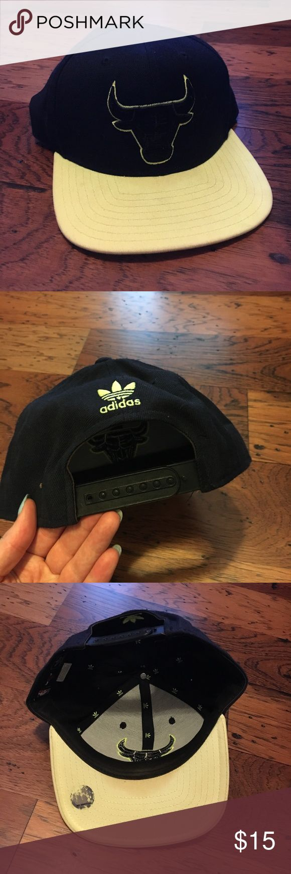 Chicago bulls/ adidas snapback Only worn a handful of times; great condition adidas Accessories Hats