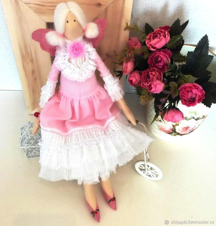 Купить Тильда фея в интернет магазине на Ярмарке Мастеров