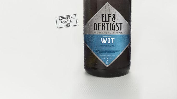 BEER, BIER, CERVEZA CONCEPT.  VAN-DER identity & branding