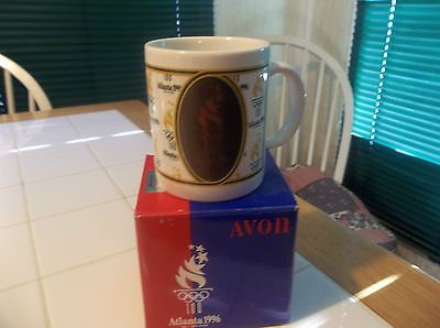 Avon 1996 Atlanta Olympic Games Commemorative Mug