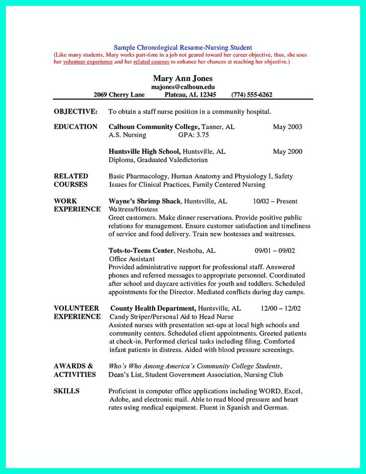 how to write good resume samples
