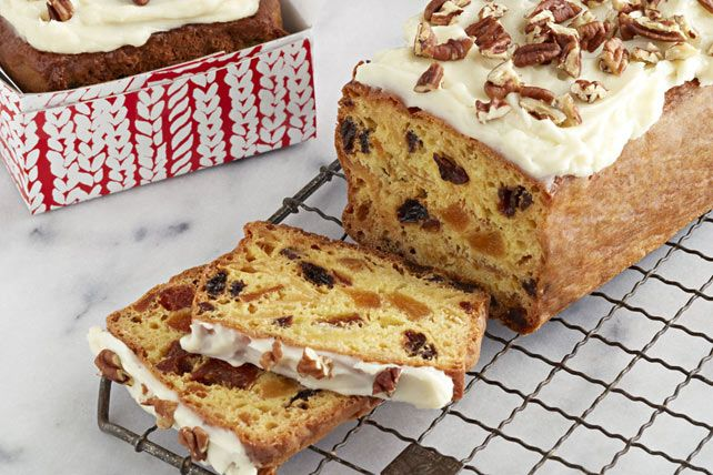 Give them a fruit cake they'll enjoy with our Easy Fruit Cake! Use yellow or chocolate cake mix to make this fruit cake with only 15 minutes of prep time.