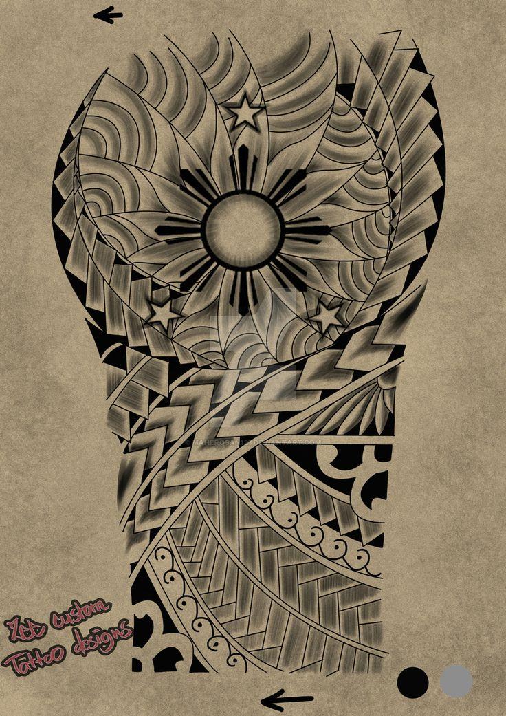 Tattoo request design 3 stars and the sun by maherosan123.deviantart.com on @DeviantArt