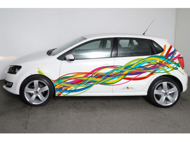 How would branding look on a VW Polo 2013
