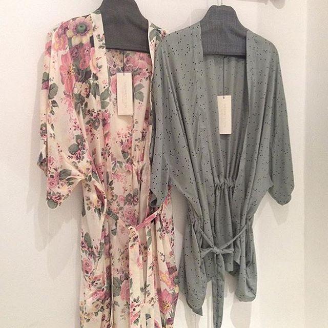lets have responsibility.. underproduction kimonos - Ethics & Aesthetics. Eco friendly. bloom and Dotty kimonos.  please visit www.underprotection.dk