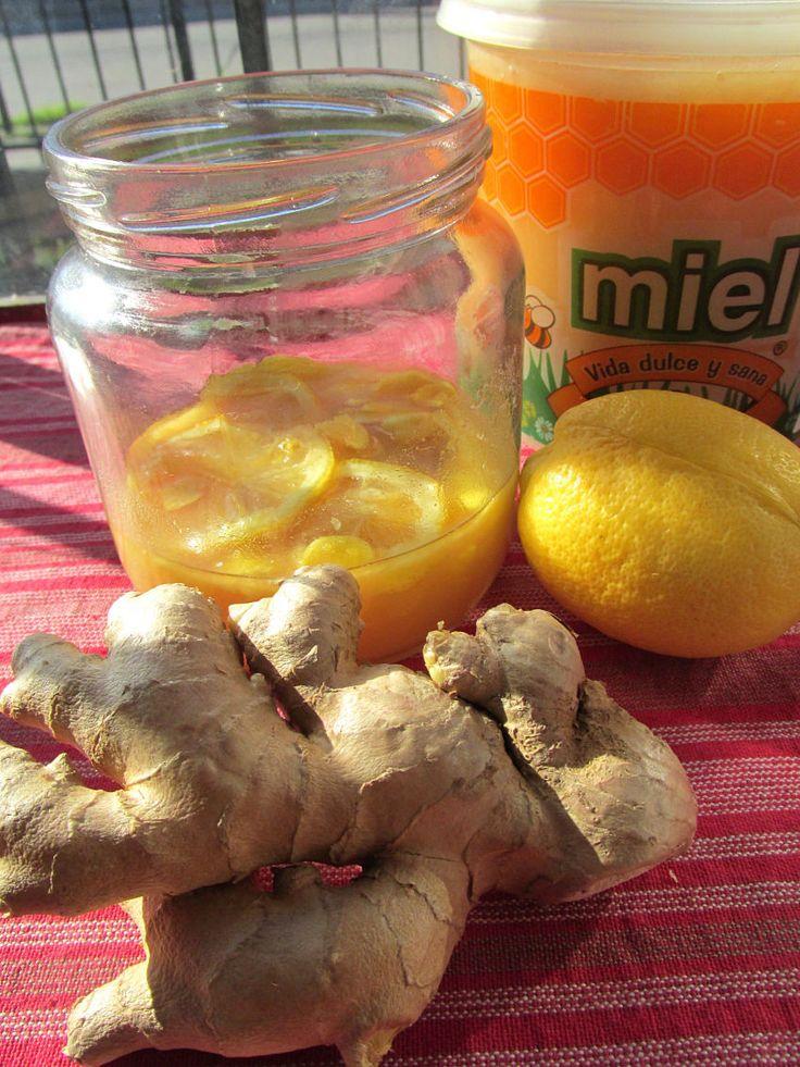 Infusión de jengibre, limón y miel para dormir bien - Searching High