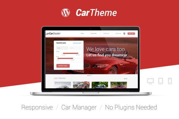 CarTheme WordPress Car Dealer Theme