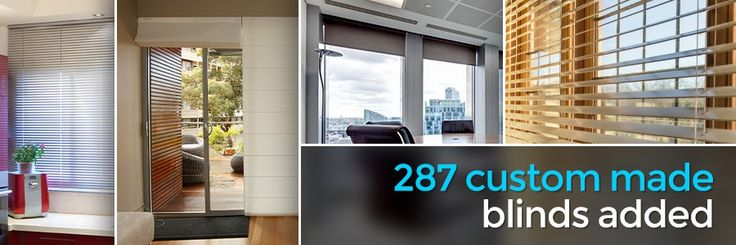 287 Custom Made Blinds Added #blinds #blog