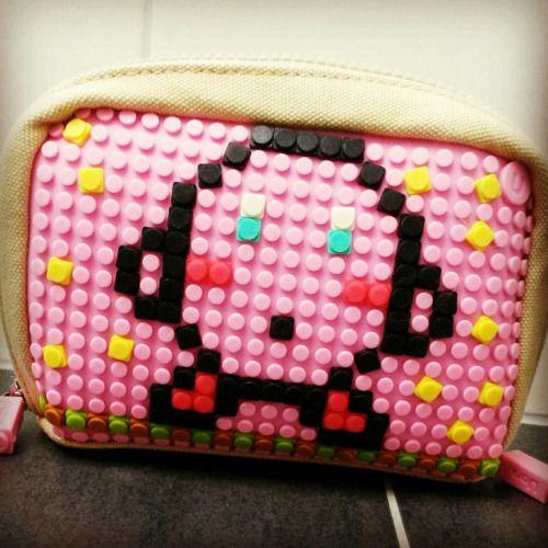 My Pixel beauty case.. Kiiirby