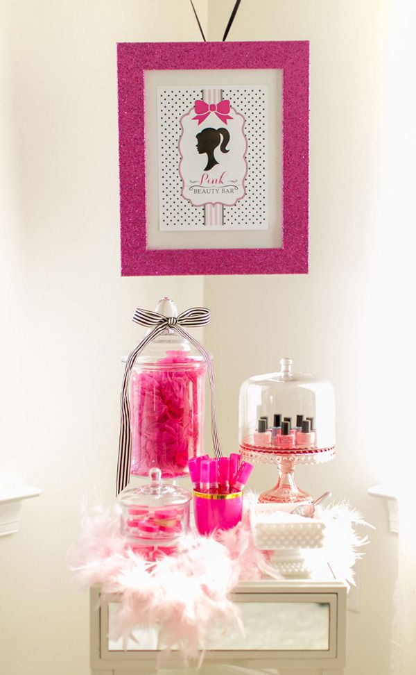 Festa Barbie Spa: inspiração para aniversário de meninas entre 7 e 10 anos | Beleza de Mãe